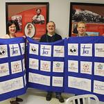 Retirees receive quilt